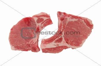a piece of pork