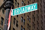 Broadway Street Street Sign