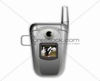 cellular phone flipphone