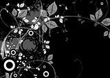 Black Floral X-3