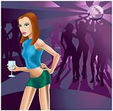Nightclub woman