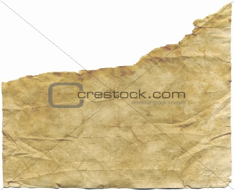 Antique torn paper