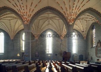 Vadstena  cloister