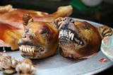 Grilled dog