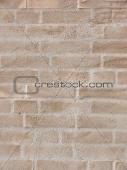 Modern Yellow Brick Wall
