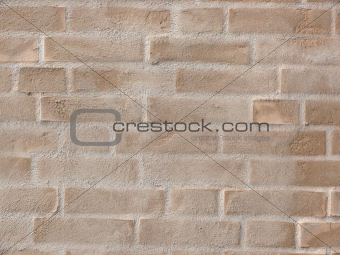 Modern Yellow Brick Wall