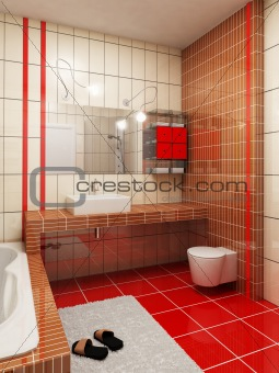 Ibathroom Design Rendering Bathroom Design