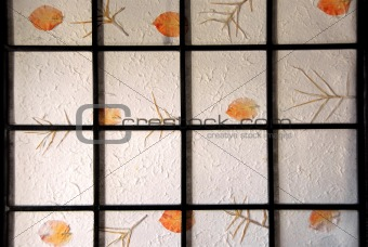 Rice paper screen