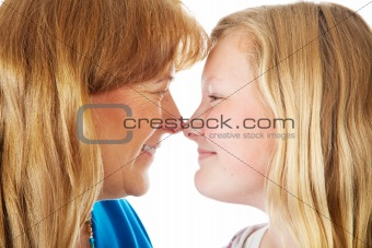 Mom and Daughter Face Off