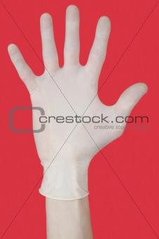 Bristling fingers