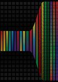 Abstract background, vector rainbow
