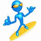Shaka Surfer