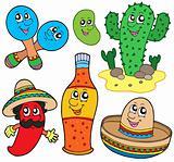 Mexican cartoon collection