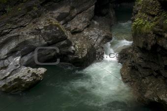 Breitachklamm - a mountain stream