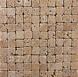 Small Ceramic Stone  Brick Tiled Background