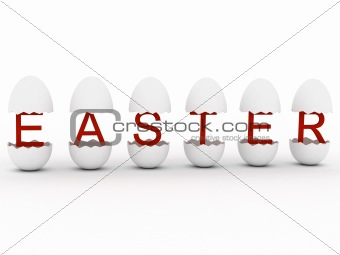 """Easter"" in egg"