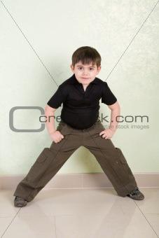 a boy