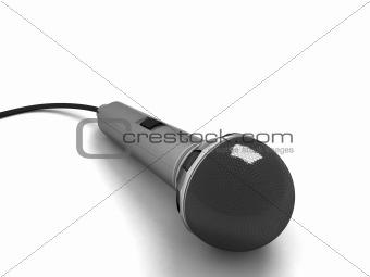 three dimensional karaoke microphone