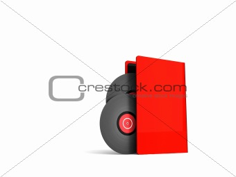 three dimensional vinyl card