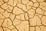 Desert Floor Natural Cracked Pattern Background