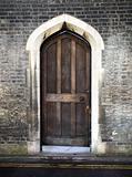 Gothic arched Door in Cambridge UK