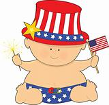Baby Fourth of July