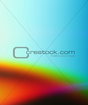 Abstract colored background in blue, red and yellow
