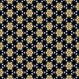 green flower pattern