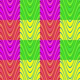 multicolor block wave pattern