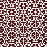 grunge brown flower pattern
