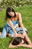 massage girl
