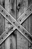Rustic Barn Door (BW)