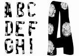 Fingerprint Alphabet Full A to I (Set 1 of 3)