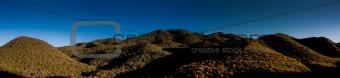green hills panorama