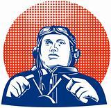 World War II ace pilot