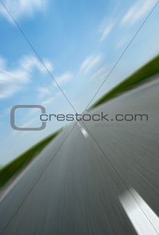 Asphalt road speed