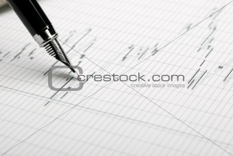 Business a theme background
