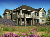 3d Model of estate house