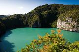 Land locked lagoon, Ang Thong Marine Park, Thailand