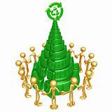 Green Christmas Unity