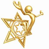 Jump For Joy Star Of David