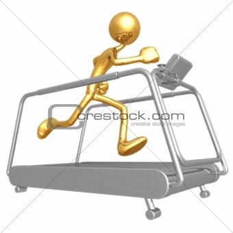 Treadmill Jogging