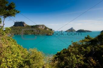 Archipelago of Ang Thong, National Marine Park, Koh Samui, Thail