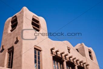 Adobe style Santa Fe USA