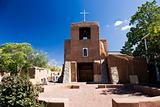 San Miguel Church Santa Fe USA