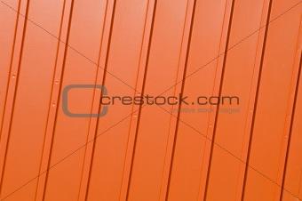 Corrugated orange panel