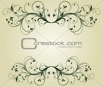 Abstract vintage design
