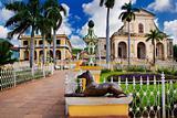 Trinidad town, cuba