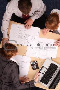 business meeting - offer presentation