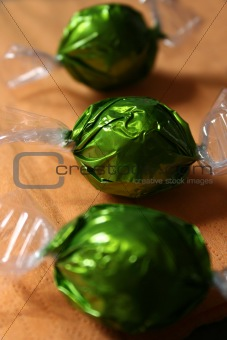 Candies chocolate